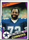 1984 Topps Ed Jones Dallas Cowboys #242 Football Card