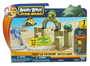 Angry Birds Star Wars Toys : Angry birds star wars at at attack battle game an island life