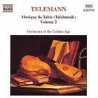 Georg Philipp Telemann - Telemann: Tafelmusik, Vol. 2 (1999)