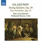 Alexander Glazunov - Glazunov: String Quintet; Five Nevelettes (2007)