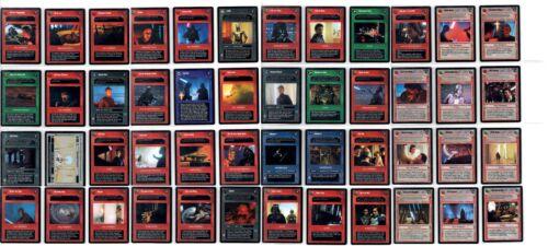 Star Wars CCG Cloud City Rare Cards Part 1//4