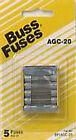 Bussmann BP/AGC-20 20 Amp Fast Acting Glass Tube Fuse