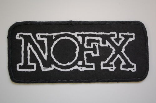 NOFX Sewn Patch (SP1077) Punk Rock Bad Religion Mxpx Minor Threat Pennywise