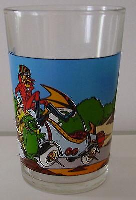 Verre à moutarde Les Fous du volant. SATANAS et DIABOLO Hanna Barbera. VM654