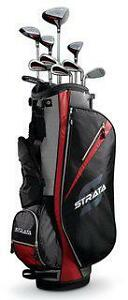 Callaway-Strata-Mens-13-pc-Club-Set-Right-Hand-Std-Set-with-Bag-Graphite-New