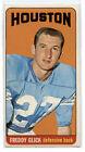 1965 Topps Freddy Glick Houston Oilers #76 Football Card