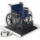 "Detecto Brw1000 Portable Bariatric WheelChair Scale 40"" Wide, 1000lb 450kg Capacity"
