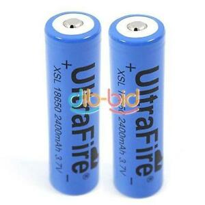2-x-UltraFire-18650-3-7V-Rechargeable-Li-ion-Battery