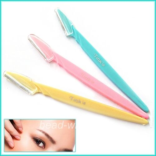3x Facial Tool Eyebrow Lip Razor Trimmer Hair Remover Knife Blade Knife Shaver
