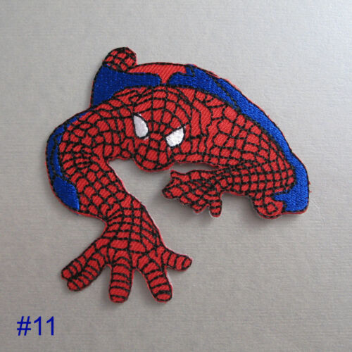 Superhero Iron On// Sew On Cloth Patch Badge Appliqué cosplay comic TV movie film