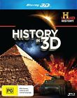 History In 3D (Blu-ray, 2012, 3-Disc Set)