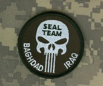 OEF SEAL SPECIAL WARFARE TALIZOMBIE© WHACKER PRO-MEMBER WAR TROPHY: BAGHDAD IRAQ