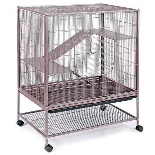Prevue Small Pet Cage for Rats, Chinchillas and Small Ferrets - Model 495