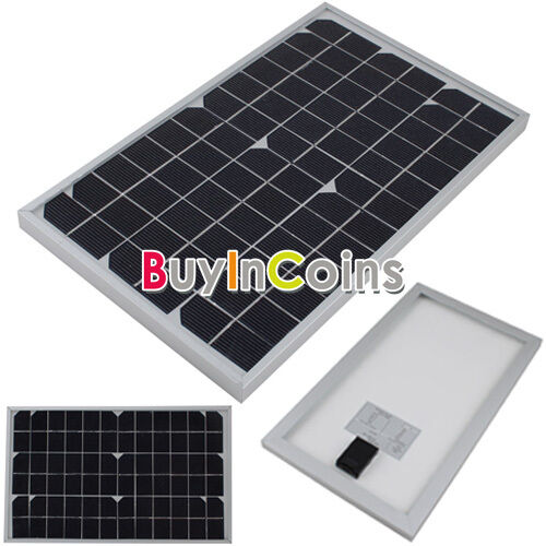 New Efficient Mono Solar Panel 10W 18V Polycrystalline Pv Module Battery Charger