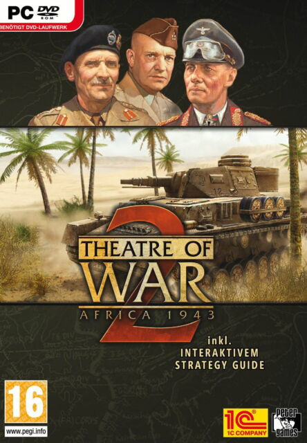 Theatre Of War 2 - Africa 1943 (PC, 2009, DVD-Box) in Deutsch