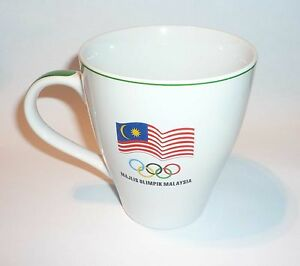 MILO-Ceramic-MUG-CUP-2004-Athens-Olympics-MALAYSIA-Nestle-New-Official-MINT