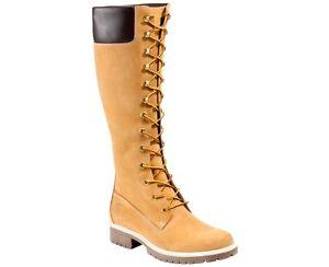 New-Womens-Timberland-14-034-Premium-Boot-Shoes-wheat