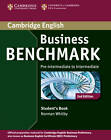 Business Benchmark Pre-intermediate to Intermediate Business Preliminary Student's Book by Norman Whitby (Paperback, 2013)
