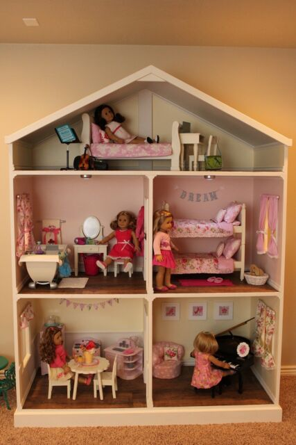 American Girl doll house plans collection on eBay!