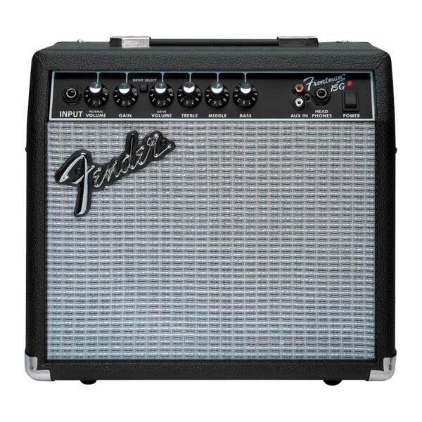 fender frontman 15g 15 watt guitar amp ebay. Black Bedroom Furniture Sets. Home Design Ideas