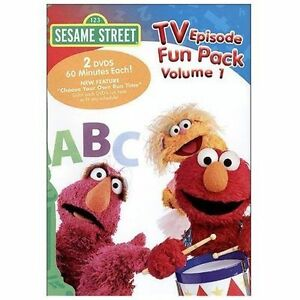 Details about Sesame Street - TV Episode Fun Pack, Vol DVD