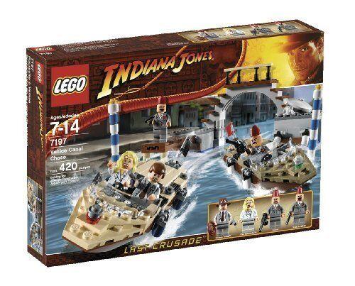 Nuevo Lego Indiana Jones 7197 Venice Canal Chase Sellado