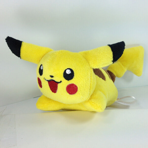"Pokemon Plush Pikachu Character Soft Toy Stuffed Animal Doll Figure Teddy New 5"""