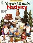 North Woods Nativity : Easy 16 Piece Hand Carved Nativity Set by Cyndi Joslyn (2004, Paperback)