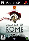 The History Channel: Great Battles of Rome (Sony PlayStation 2, 2007, DVD-Box)