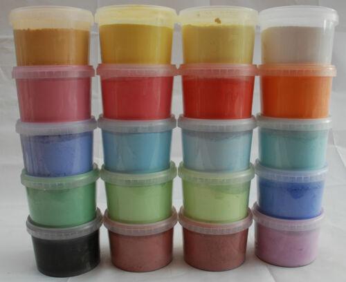 Powder Paint 500g - 20 different colours available