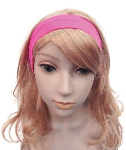 Orange Green Orange Fancy Dress Adult Neon 80/'s Hairband Pink