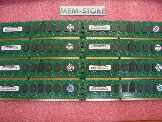 64GB (8X8GB) PC3-10600 DDR3 1333MHz Memory kit for Apple (MacPro) Mac Pro12-core