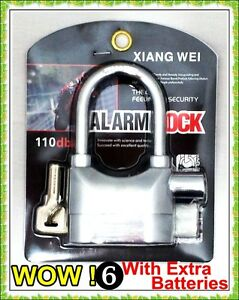 ALARMED-MOTION-SENSOR-PADLOCK-MOTORBIKE-ALARM-LOCK-BIKE-CONTAINER-SHED-SECURITY