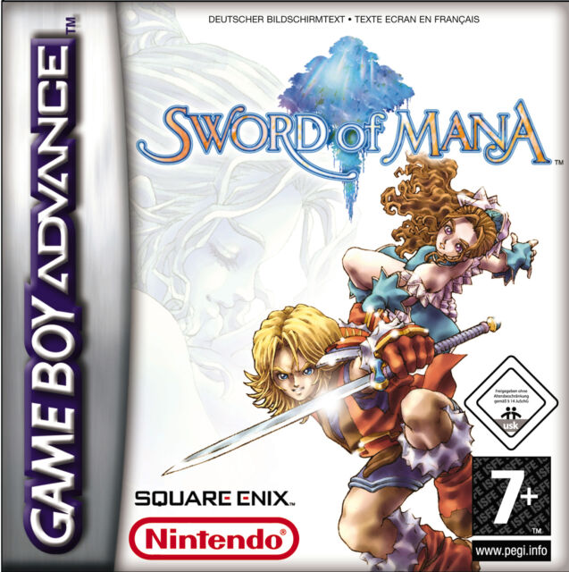 GBA Sword of Mana GameBoy Advance absolut TOP NUR MODUL