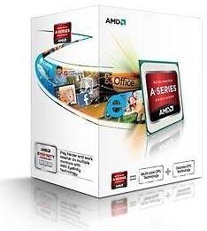AMD A4-5300 2x 3,4 GHz Dual-Core (AD5300OKHJBOX) Prozessor APU mit HD7480D BOX