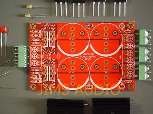 Bridge-rectification-PSU-PCB-using-4-ultrafast-diodes-partial-kit