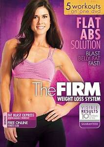 Details about The Firm Flat Abs Solution DVD Fitness Training Exercise  Workout Video NEW
