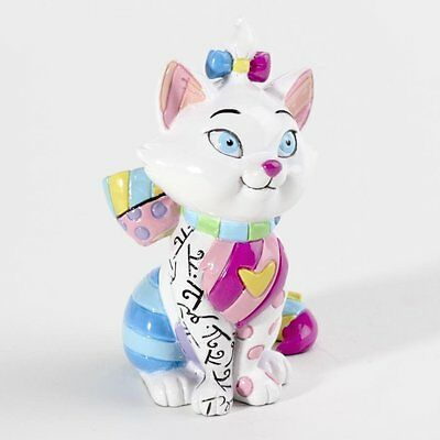 ROMERO BRITTO DISNEY MINI MARIE THE  CAT  MINIATURE  NEW