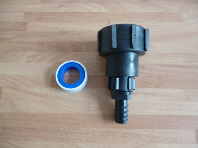 IBC Adaptor to Hose Tail Water Tank Hoselock IBC Fitting Oil Tank