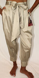 NWT-128-Norma-Jeane-Marilyn-Monroe-High-Waist-Cropped-Harem-Pant-Belted-Curvy