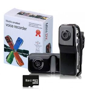 GearXs-Mini-DV-MD80-DVR-Video-Camera-w-8GB-Memory-The-World-039-s-Smallest-Camera