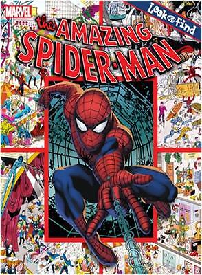 """""""AS NEW"""" AMAZING SPIDER-MAN (Look and Find), Publications International, Book"""