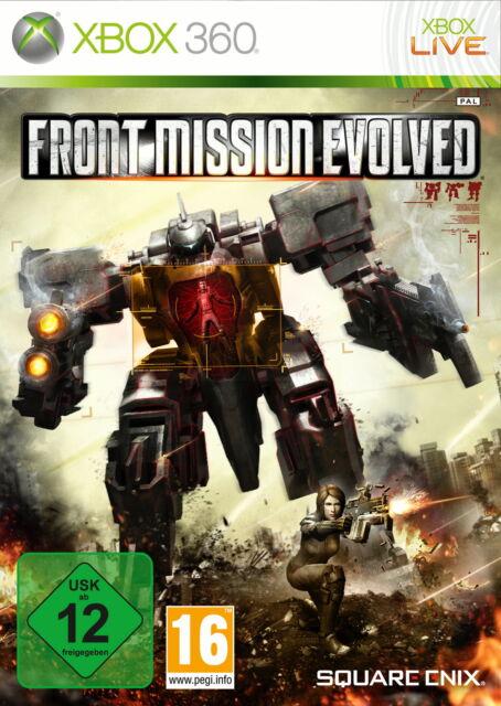 Front Mission Evolved (Microsoft Xbox 360, 2010, DVD-Box)