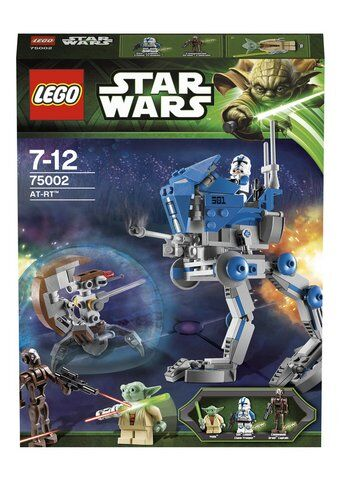 Lego Star Wars AT-RT 75002 (Brand New & Sealed) Retired
