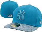 New Era York Yankees Fitted Hat: Era 59FIFTY Blue/Grey EITR 2 Fitted Hat 7 1/4 - 59FIFTYEITR2BLUEGRAY