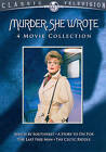 Murder, She Wrote: 4 Movie Collection (DVD, 2012, 2-Disc Set)
