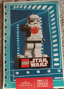 STAR-WARS-LEGO-HALLMARK-D-S-13x18-Original-Promo-Poster-SDCC-2012-MINT-ROLLED