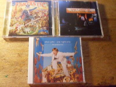 Elton John [3 CD Alben] Fantastic + Hits + Piano Player