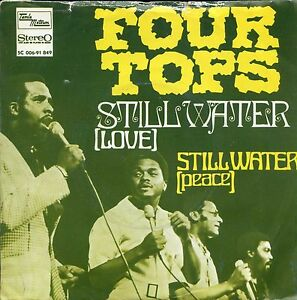 7inch-THE-FOUR-TOPS-still-water-HOLLAND-PS-VERY-RARE-SOUL-MOTOWN-EX-VG