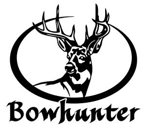 Bow Hunter Decaldeer Hunting Stickerarcherycompound Bowtruck - Bow hunting decals for trucks
